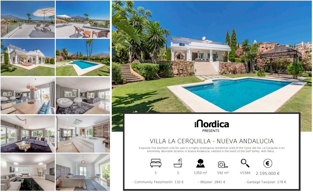 Villa for sale La Cerquilla